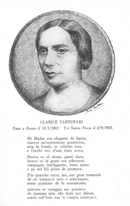 Ritratto di Clarice Tartufari